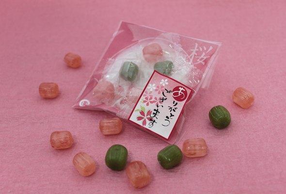 あめいろこづつみ(桜のど飴)