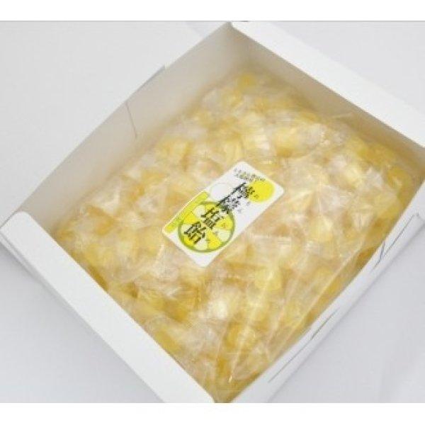 画像1: 【ギフト用】レモン塩飴1kg☆お中元・父の日 送料無料 (1)