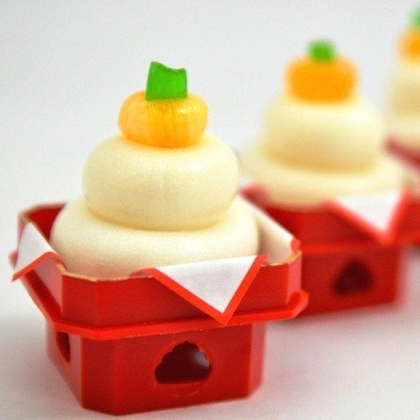 画像1: ミニ鏡餅 (1)