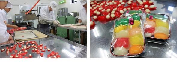 フジテレビ「めざましどようび」で『にぎり寿司飴』と飴づくりが紹介