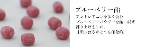 ブルーベリー飴