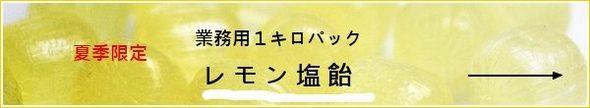 夏季限定!1キロ業務用パック・レモン塩飴