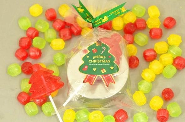 クリスマスキャンディ缶